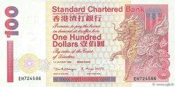 100 Dollars HONG KONG  1998 P.287c SPL+