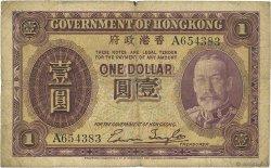 1 Dollar HONG KONG  1935 P.311 B