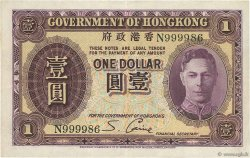 1 Dollar HONG KONG  1936 P.312 TTB+
