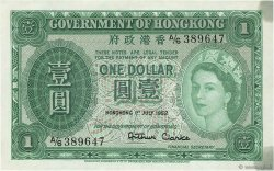 1 Dollar HONG KONG  1952 P.324Aa SUP+