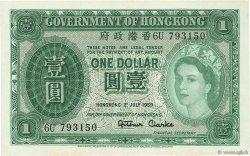 1 Dollar HONG KONG  1959 P.324Ab SPL
