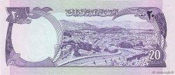 20 Afghanis AFGHANISTAN  1973 P.048a NEUF