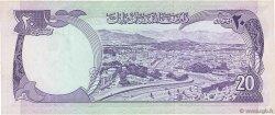 20 Afghanis AFGHANISTAN  1975 P.048b SUP