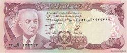 100 Afghanis AFGHANISTAN  1977 P.050c TTB