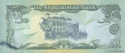 50 Afghanis AFGHANISTAN  1991 P.057b SPL