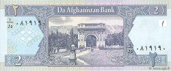 2 Afghanis AFGHANISTAN  2002 P.065a NEUF