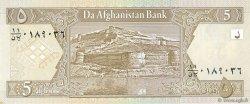 5 Afghanis AFGHANISTAN  2002 P.066a NEUF