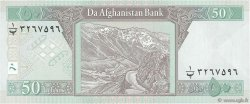 50 Afghanis AFGHANISTAN  2002 P.069a SPL