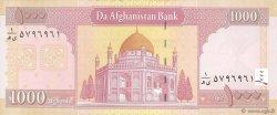 1000 Afghanis AFGHANISTAN  2002 P.072a NEUF