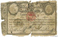 12800 Reis PORTUGAL  1826 P.029 AB