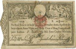20000 Reis PORTUGAL  1826 P.030 TB à TTB