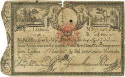 2400 Reis PORTUGAL  1828 P.034 TB