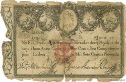 5000 Reis PORTUGAL  1828 P.038B AB