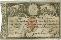 10000 Reis PORTUGAL  1828 P.040 TB