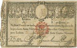 20000 Reis PORTUGAL  1828 P.046 TTB