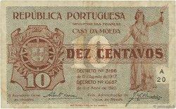 10 Centavos PORTUGAL  1925 P.101