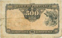 500 Reis PORTUGAL  1917 P.105a TB