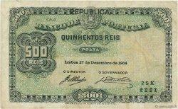500 Reis PORTUGAL  1917 P.105b TTB