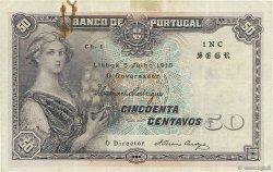 50 Centavos PORTUGAL  1918 P.112b TB+