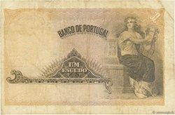 1 Escudo PORTUGAL  1918 P.113b TB+