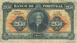 2,5 Escudos PORTUGAL  1925 P.127 TB