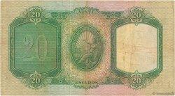 20 Escudos PORTUGAL  1949 P.153a TTB
