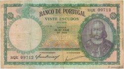 20 Escudos PORTUGAL  1954 P.153a TB+