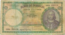 20 Escudos PORTUGAL  1954 P.153b TB+