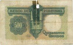 500 Escudos PORTUGAL  1942 P.155 B