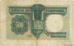 500 Escudos PORTUGAL  1942 P.155 TB+