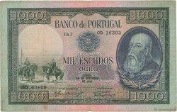 1000 Escudos PORTUGAL  1942 P.156 TB+