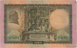 1000 Escudos PORTUGAL  1942 P.156 TB
