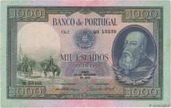 1000 Escudos PORTUGAL  1942 P.156 SUP
