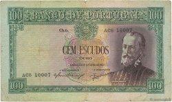 100 Escudos PORTUGAL  1947 P.159 pr.TB