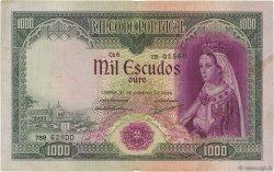 1000 Escudos PORTUGAL  1956 P.161 TB+