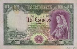 1000 Escudos PORTUGAL  1956 P.161 TTB