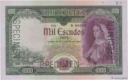 1000 Escudos PORTUGAL  1956 P.161s pr.NEUF