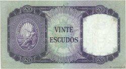 20 Escudos PORTUGAL  1960 P.163 TTB+