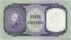 20 Escudos PORTUGAL  1960 P.163 SUP