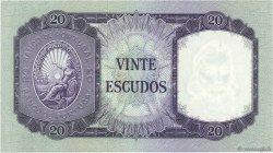 20 Escudos PORTUGAL  1960 P.163 pr.SUP