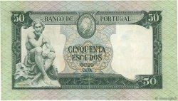 50 Escudos PORTUGAL  1960 P.164 pr.SUP