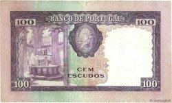 100 Escudos PORTUGAL  1961 P.165 TTB+