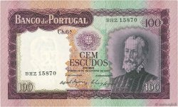 100 Escudos PORTUGAL  1961 P.165 NEUF