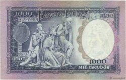 1000 Escudos PORTUGAL  1961 P.166 TTB