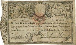 20000 Reis PORTUGAL  1828 P.047 TB+