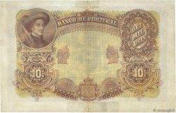 10000 Reis PORTUGAL  1908 P.081 TB