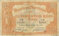 500 Reis PORTUGAL  1899 P.072 TB