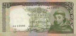 20 Escudos PORTUGAL  1964 P.167a TTB+
