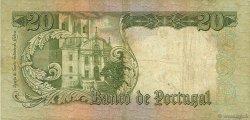 20 Escudos PORTUGAL  1964 P.167a TB