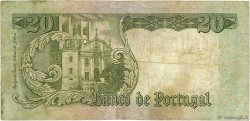 20 Escudos PORTUGAL  1964 P.167b pr.TB